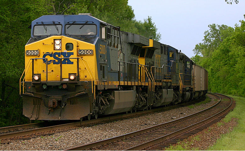Csx Rail Freight Train