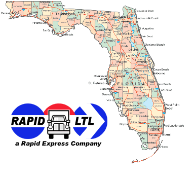 New York & New Jersey to Florida Guaranteed LTL Delivery