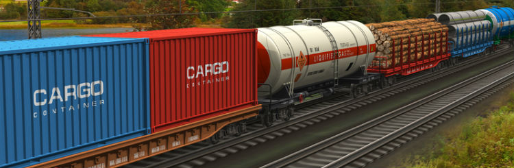 rail freight service full door to door rail intermodal truck rail